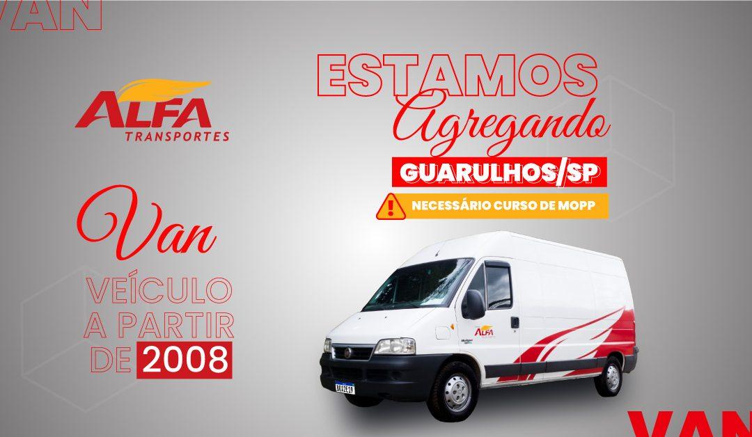 Estamos agregando Van – Guarulhos/SP