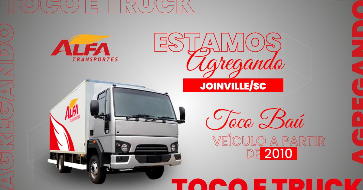 Estamos-Agregando-Toco-e-Truck-Joinville-2 Alfa Transportes