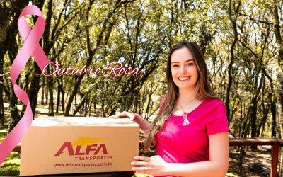 Outubro Rosa conscientização sobre o câncer de mama – Alfa Transportes